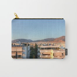 Evening Light Over Athens Carry-All Pouch
