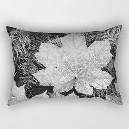 Ansel Adams - Leaves Rectangular Pillow