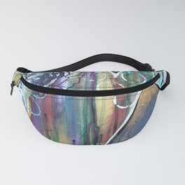Gold Mountain Rose Fanny Pack