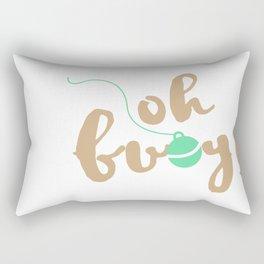 oh buoy Rectangular Pillow