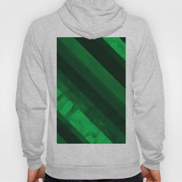 Mixed lines with green tones Hoody