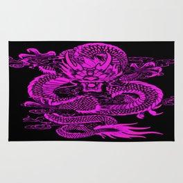 Epic Dragon Purple Rug