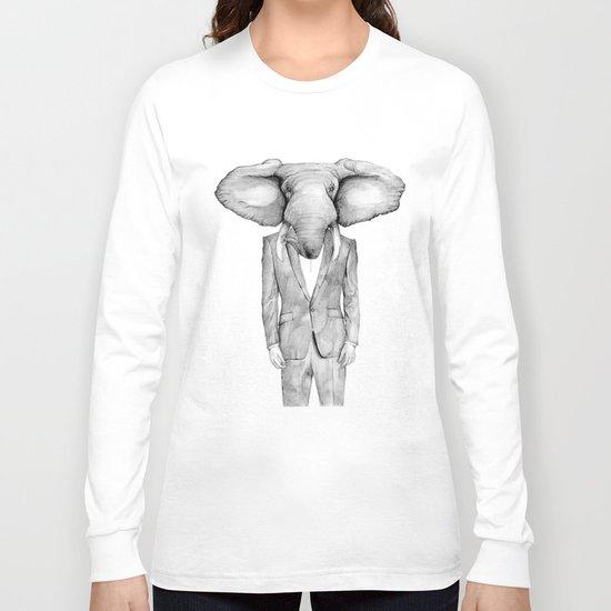 mr. elephant  Long Sleeve T-shirt