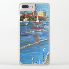 Expression Rīga, Latvia Clear iPhone Case