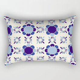 Portuense Tile Rectangular Pillow