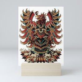 Heraldric Phoenix Mini Art Print
