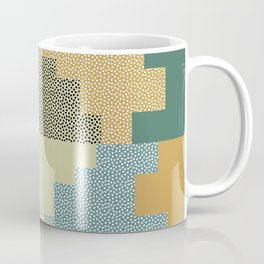 Shapes and dots Coffee Mug
