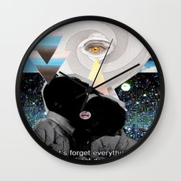 _FORGET EVERYTHING Wall Clock