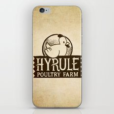 Hyrule Poultry Farms iPhone & iPod Skin