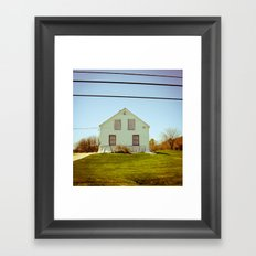 A Home Framed Art Print