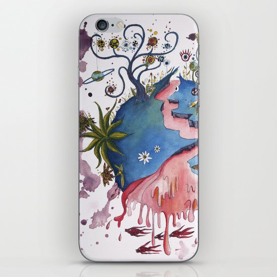 The strange planet iPhone Skin