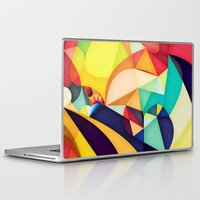 poetry Laptop & iPad Skins featuring Poetry Geometry by Anai Greog