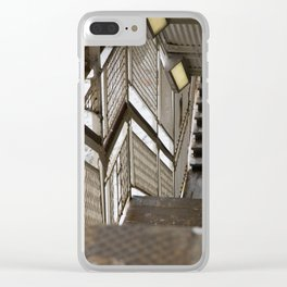 Armitage in winter Clear iPhone Case