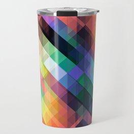 Geometric Abstract Travel Mug