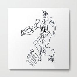 2013-03, Automatic Metal Print