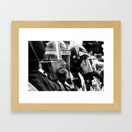 The Visor Line Framed Art Print