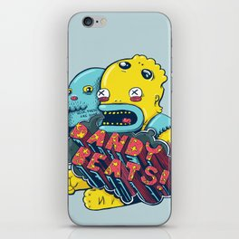 Dandy Beats iPhone Skin