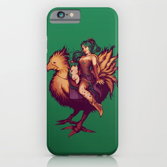 Mog's Chocobo Riding Club iPhone & iPod Case