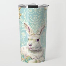 The White Rabbit Travel Mug