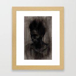 I Once Thought a Tree Spoke to Me Framed Art Print