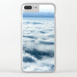 Above the Clouds - Nature Photography Clear iPhone Case
