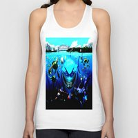 finding nemo Tank Tops featuring nemo by Marwan Baghdadi