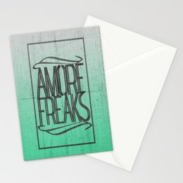 AMORE FREAKS Stationery Cards
