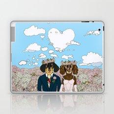 Dachshund Lovers - Honeymoon Laptop & iPad Skin