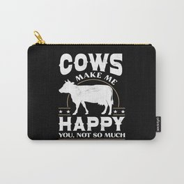 Cow Animal Carry-All Pouch