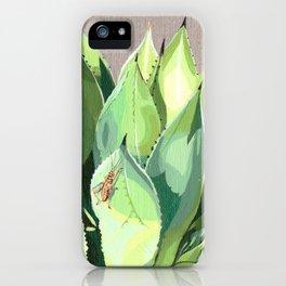 Agave Parrasana iPhone Case