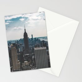 NEW YORK - CITY MANHATTAN - EMPIRE STATE BUILDING - PHOTOGRAPHY Stationery Cards