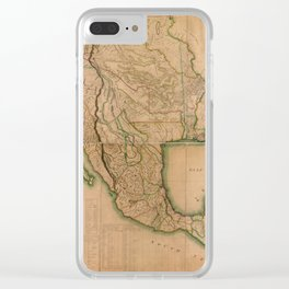 Map of North America Missouri Territory (1826) Clear iPhone Case