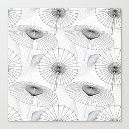 Japanese Umbrella pattern #9 Canvas Print