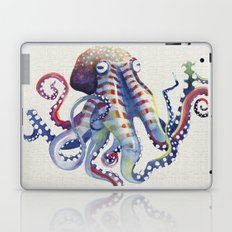Octopus : Natural Laptop & iPad Skin