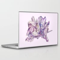 crystals Laptop & iPad Skins featuring Crystals by my first palette