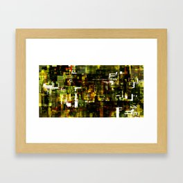Grid Series Framed Art Print