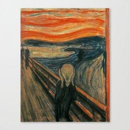 Classic Art - The Scream - Edvard Munch Canvas Print