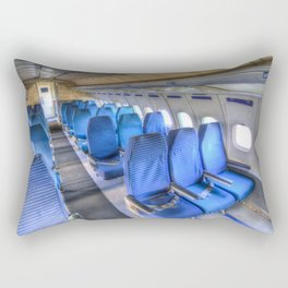 Tupolev TU-154 Russian Airliner Seating Rectangular Pillow