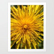 Yellow Love Art Print