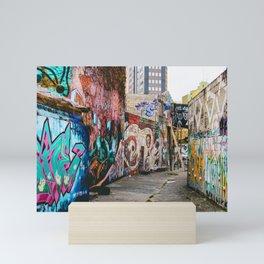 Forgoten alleys Mini Art Print