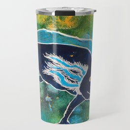 Navy Cosmic Astra-lotl Travel Mug