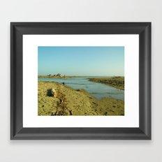 Navaro Beach V Framed Art Print