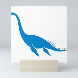 Nessie, I believe! Mini Art Print