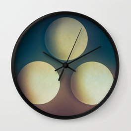 Third Cue  Wall Clock
