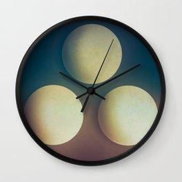 Third Cue  Wall Clock