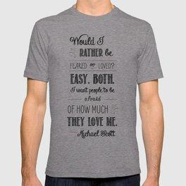 The Fight - M. Scott T-shirt