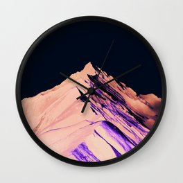 Dark Mountain #society6 #decor #buyart Wall Clock