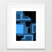 tron Framed Art Prints featuring Tron by Fine2art