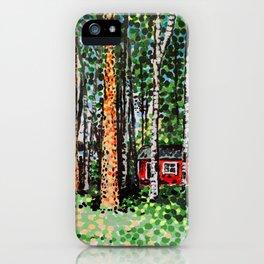 The Escape Hut iPhone Case