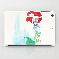 ariel iPad Cases featuring ariel by Sara Eshak